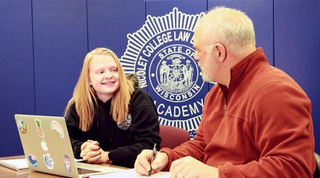 success story nicolet criminal justice student